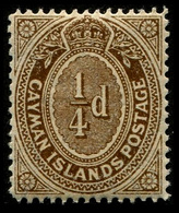1908 Cayman Islands - Cayman Islands