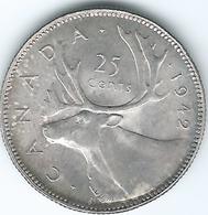 Canada - George VI - 25 Cents - 1942 (KM35) - Canada