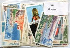 Lot 100 Timbres Monaco - Vrac (max 999 Timbres)