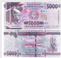 Guinea - 5000 Francs 2015 UNC Ukr-OP - Guinée