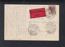 Dt. Reich Expres PK 1915 Mühlhausen Nach Berlin - Germany