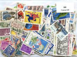 Lot De Timbres De France (500 Differents) - Vrac (max 999 Timbres)