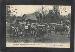 CPA Laos Asie Circulé Indochine - Laos