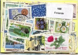 Lot 100 Timbres Finlande - Timbres
