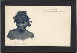 CPA Australie Australia Aborigène Non Circulé - Aborigènes