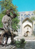 "1 AK Usbekistan * Denkmal Für Hodscha Nasreddin In Buchara – Er Lebte Im 13. Jh. Der Orientalische ""Till Eulenspiegel"" - Ouzbékistan"