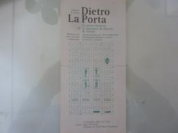 """Pieghevole """"Comune Di Atrani DIETRO LA PORTA La Porta Bronzea Di S. Salvatore De Birecto In Atrani"""" 1992 - Dépliants Touristiques"""