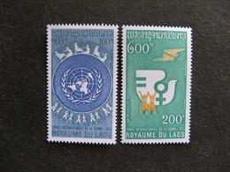 Laos - TB Paire N° 281 Et N° 282 , Neufs X. - Laos