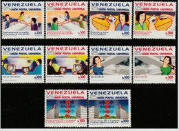 Venezuela. 1998. 125 Universal Postal Union - Venezuela