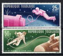 Togo Nº 475/76 En Nuevo - Togo (1960-...)