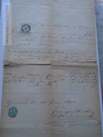 ZA185.20 Old Document Slovenia?  Oppidi VARNA Parochus Joannes Zlatháry - Josephus Obrucsay - Naissance & Baptême