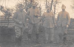 ¤¤  -   Carte-Photo Non Située  -  Quatre Soldats Du 421 E        -  ¤¤ - Régiments