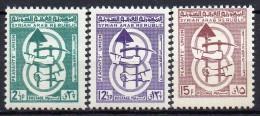 Syrie - 1965 - N° Yvert : 200 à 202 ** - Syrie