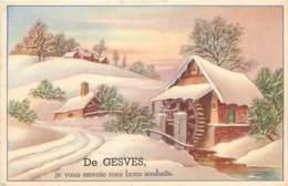 Belgique - Gesves - Fantaisie - De Gesves Je Vous Envoie Mes Bons Souhaits - Gesves