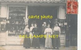 34 --- HERAULT / BEZIERS ?? 7 Rue République / FEMINA BIJOUX , Devanture De Magasin, ANIMEE   CARTE PHOTO - Beziers