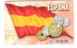 Greece - X1368 - Spain Pesetas Coins - Coin - Münze - Münzen - Rare Card - 19.000ex. - Grèce