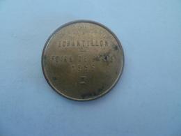 Jeton / Token Administration Des Monnaies Et Medailles : échantillon Foire De Paris 1956 - Monétaires / De Nécessité