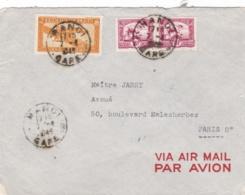 INDOCHINE :  Divers Sur Lettre De Hanoï De 1945 - Indochine (1889-1945)