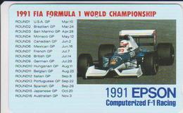 CARS - JAPAN - FORMULA-1-023 - HONDA - SHELL - Voitures