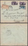 AEF - Lettre Yv38+51x2 De Pointe Noire Vers Brazzaville 15/09/1938 (7G29710) DC2560 - A.E.F. (1936-1958)