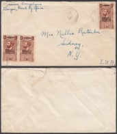 AEF - Lettre Yv23x3 De Bangui Vers Sidney 25/06/1937 (7G29710) DC2561 - A.E.F. (1936-1958)