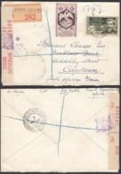 AEF - Lettre Yv57+151 De Port Gentil Vers Capetown, South Africa 30/09/1944 (7G29710) DC2574 - Lettres & Documents