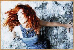 Art289 MYLENE FARMER Robe BDentelle Bleu Acier 1995s Photographie 10X15 RETIRAGE UNIQUE - Chanteurs & Musiciens