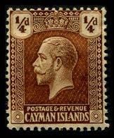 1922 Cayman Islands - Cayman Islands