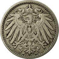 Monnaie, GERMANY - EMPIRE, Wilhelm II, 5 Pfennig, 1909, Berlin, TB+ - [ 2] 1871-1918: Deutsches Kaiserreich