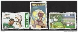 Nigeria 2009 World Cup Football Soccer South Africa MHN Mint Set - Nigeria (1961-...)