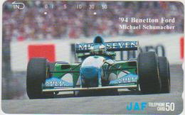 CARS - JAPAN - FORMULA-1-029 - BENETTON FORD 1994 - MICHAEL SCHUMACHER - Voitures
