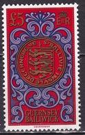 GUERNSEY 1981 Coins £ 5 MNH Set Mi 222 - Guernsey