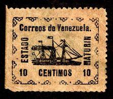 """1903 Venezuela """"Local Guayana State"""" - Venezuela"""