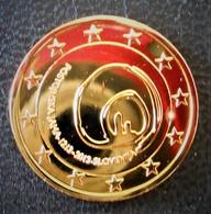 SLOVENIE - PIECE DE 2 € 2013 - NEUVE DOREE A L'OR FIN 24 CARATS - LIVREE SOUS CAPSULE - Slovénie