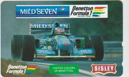 CARS - JAPAN - FORMULA-1-032 - BENETTON - MILD SEVEN - Voitures