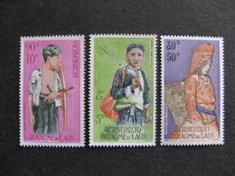 Laos - TB Série PA N° 43 Au N° 45 , Neufs X. - Laos