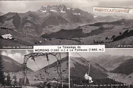 SUISSE - Le Télésiège De MORGINS à La Foilleuse - VS Valais