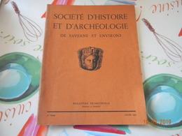 Pays D'Alsace Societe D'Histoire Et D'archeologie Saverne Et Environs    Alsace - Alsace