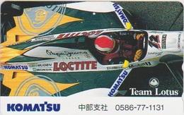 CARS - JAPAN - FORMULA-1-034 - TEAM LOTUS - Voitures