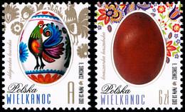 Poland 2019 Fi 4946-4947 Mi 5096-5097 Easter - Nuevos