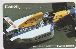 CARS - JAPAN - FORMULA-1-035 - CANON WILLIAMS - CAMEL - Voitures