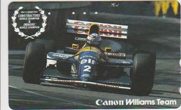 CARS - JAPAN - FORMULA-1-037 - RENAULT - CANON WILLIAMS - Voitures