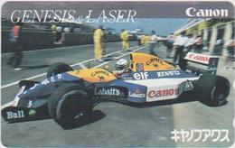 CARS - JAPAN - FORMULA-1-039 - CANON WILLIAMS - CAMEL - Voitures