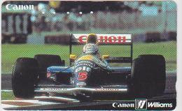 CARS - JAPAN - FORMULA-1-040 - CANON WILLIAMS - CAMEL - Automobili