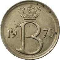 Monnaie, Belgique, 25 Centimes, 1970, Bruxelles, TB+, Copper-nickel, KM:153.1 - 02. 25 Centimes