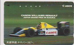 CARS - JAPAN - FORMULA-1-044 - CANON WILLIAMS - CAMEL - Voitures