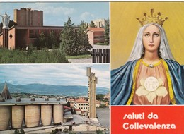 12290-SALUTI DA COLLEVALENZA(PERUGIA)-FG - Saluti Da.../ Gruss Aus...