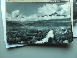 Oostenrijk Österreich Tirol Innsbruck Panorama Von Oben - Innsbruck