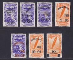 ESPAGNE BIENFAISANCE N°   71,76,80,81,83,84,85 ** MNH Neufs, Rousseur (L1248) Timbre De Bienfaisance - 1940-41 - Ungebraucht