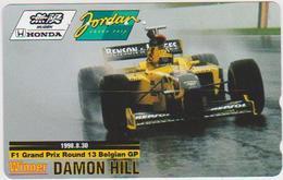 CARS - JAPAN - FORMULA-1-046 - JORDAN HONDA - DAMON HILL - Voitures